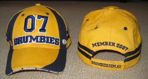 Brumbies Season Members Hat 2007