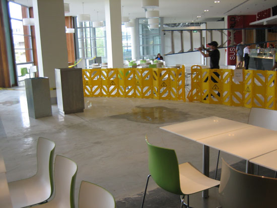 Canberra Centre new eating area