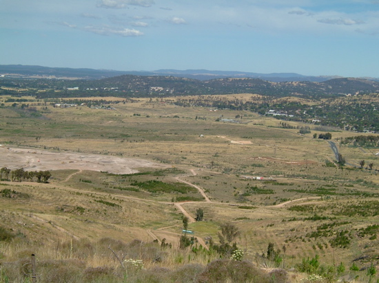 Molonglo Valley earthworks