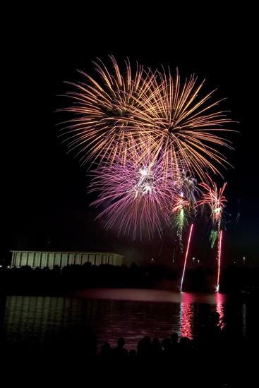 Australia Day Fireworks in Canberra
