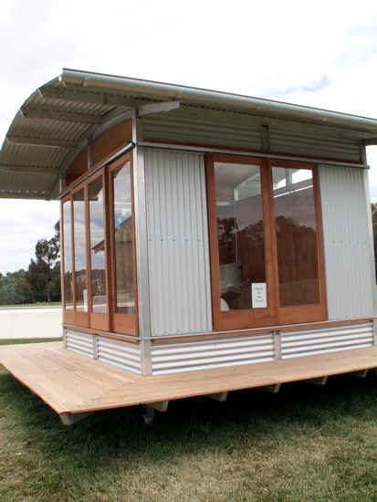 Canberra biennial virtual tour the riotact for Corrugated iron home designs