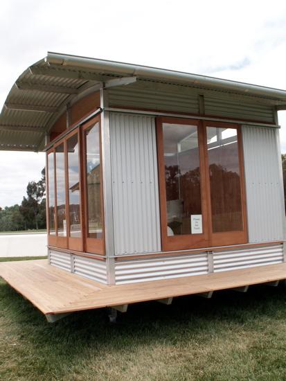 Canberra biennial virtual tour the riotact - Corrugated iron home designs ...