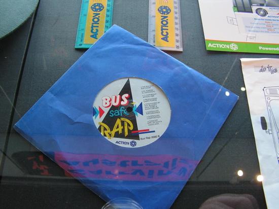 ACTIONs bus safe rap single