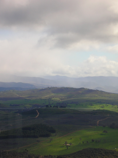 Green Hills from Telstrayama
