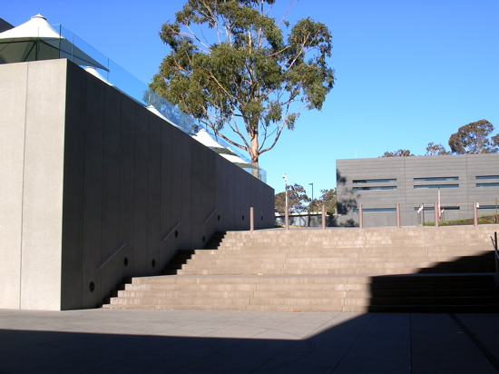 Neo Brutalism at the Australian War Memorial