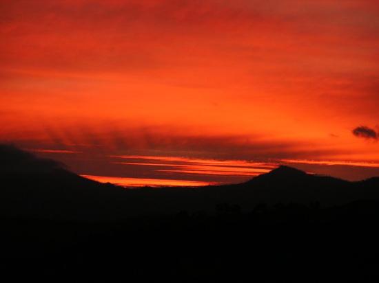 Sunset from Kambah